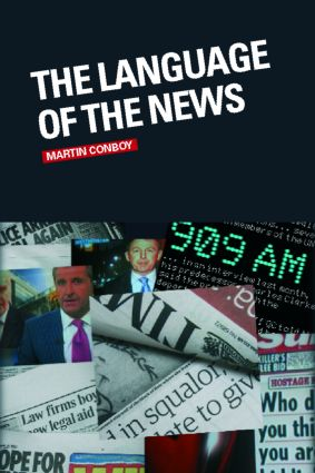 The Language of the News (Paperback) book cover