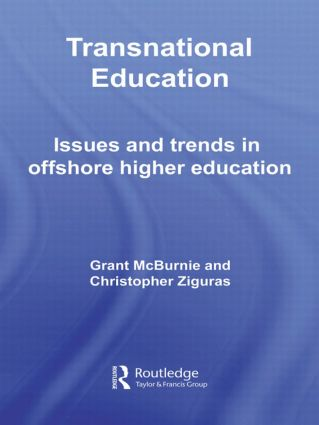 Transnational Education: Issues and Trends in Offshore Higher Education, 1st Edition (Hardback) book cover