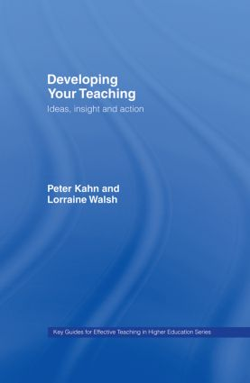 Developing Your Teaching: Ideas, Insight and Action book cover