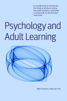 Psychology and Adult Learning: 3rd Edition (Paperback) book cover