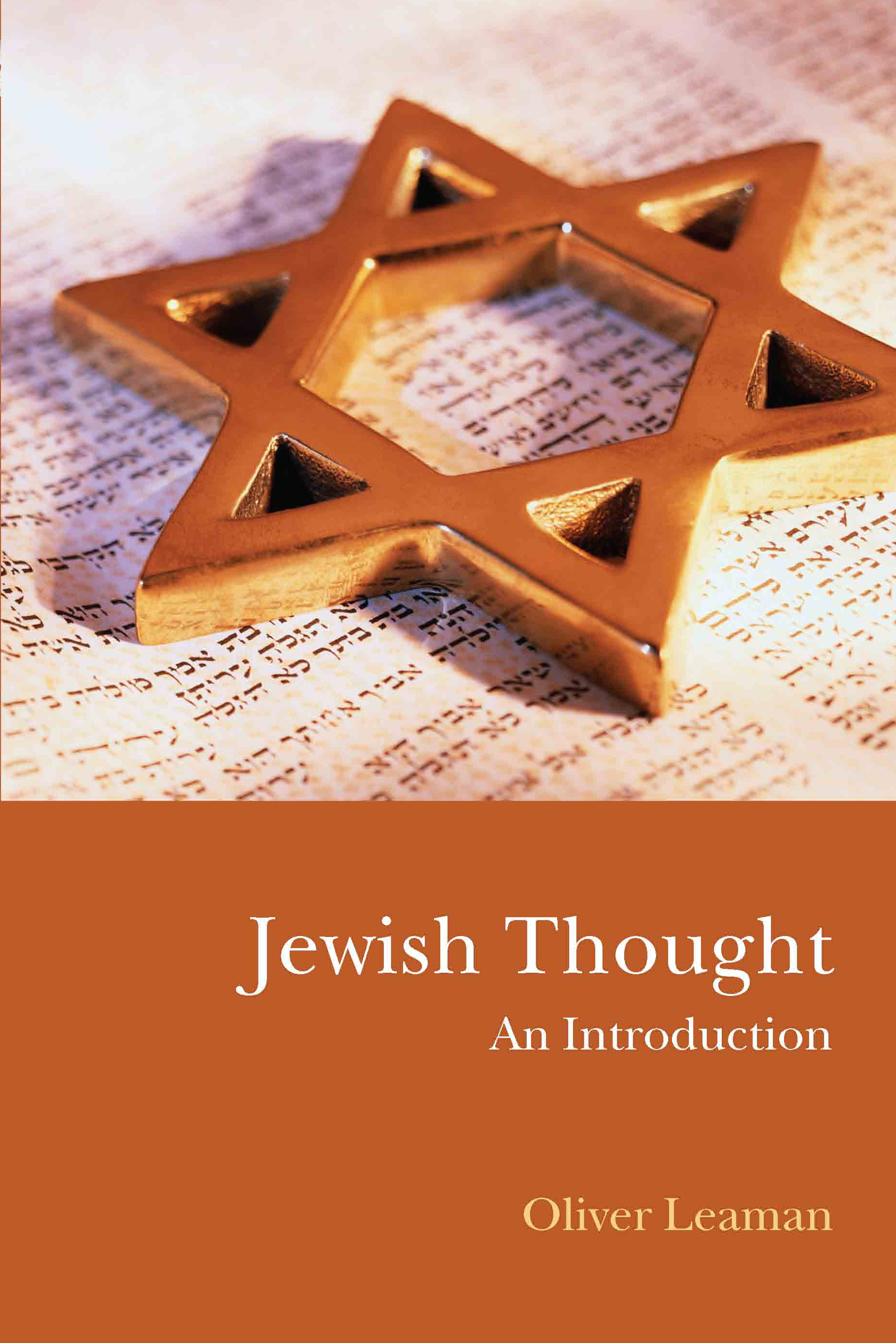 Jewish Thought: An Introduction (Paperback) book cover