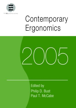 Contemporary Ergonomics 2005: Proceedings of the International Conference on Contemporary Ergonomics (CE2005), 5-7 April 2005, Hatfield, UK (Paperback) book cover