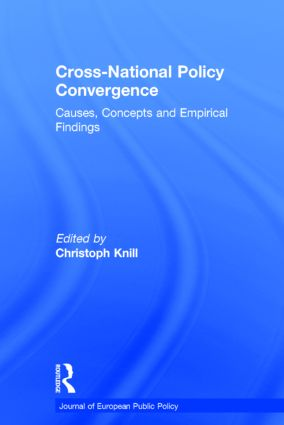 Cross-national Policy Convergence: Concepts, Causes and Empirical Findings (Hardback) book cover