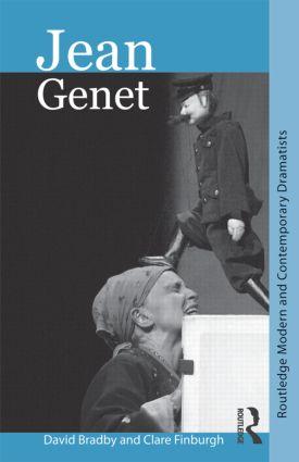Jean Genet (Paperback) book cover