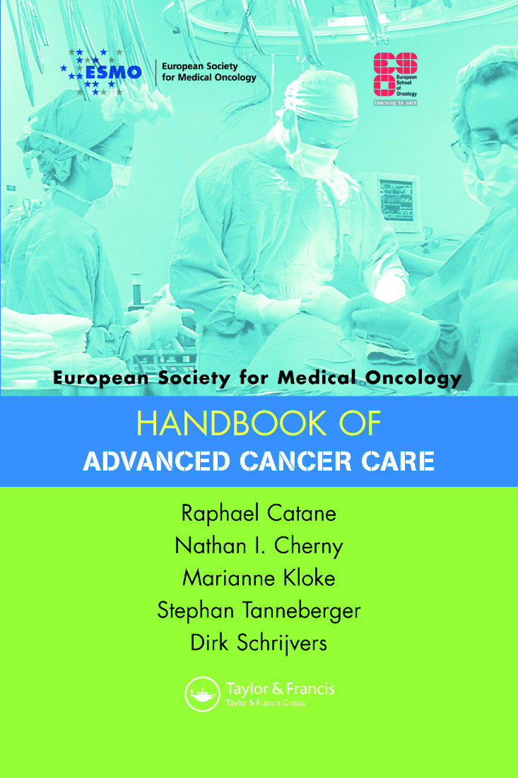 ESMO Handbook of Advanced Cancer Care book cover