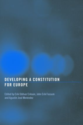 Developing a Constitution for Europe (Paperback) book cover