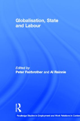 Globalisation, State and Labour (Hardback) book cover