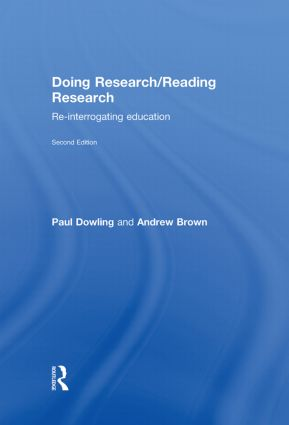 Doing Research/Reading Research: Re-Interrogating Education, 2nd Edition (Hardback) book cover