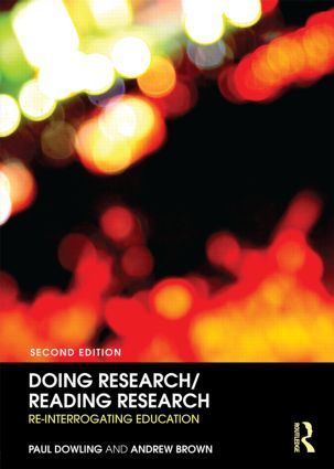 Doing Research/Reading Research: Re-Interrogating Education, 2nd Edition (Paperback) book cover