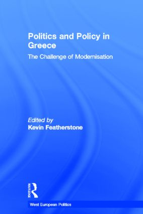 Politics and Policy in Greece: The Challenge of 'Modernisation' book cover