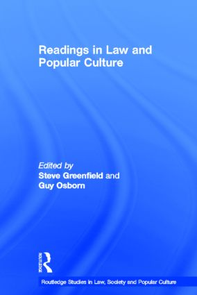 Readings in Law and Popular Culture: 1st Edition (Hardback) book cover
