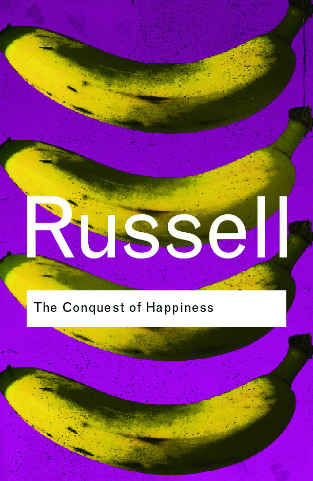 The Conquest of Happiness (Paperback) book cover