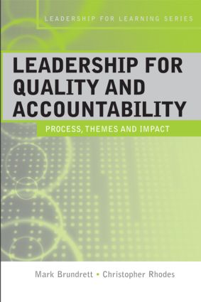 Leadership for Quality and Accountability in Education book cover