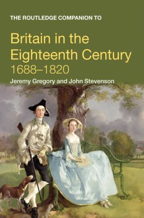 The Routledge Companion to Britain in the Eighteenth Century book cover