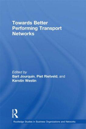 Towards better Performing Transport Networks (Hardback) book cover