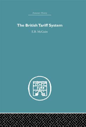The British Tariff System (Hardback) book cover