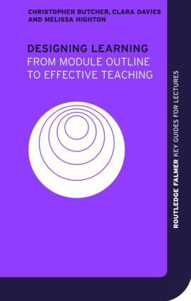 Designing Learning: From Module Outline to Effective Teaching (Paperback) book cover