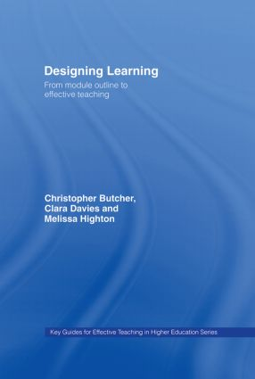 Designing Learning: From Module Outline to Effective Teaching book cover