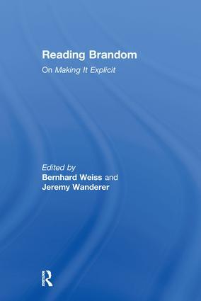 Reading Brandom: On Making It Explicit (Hardback) book cover
