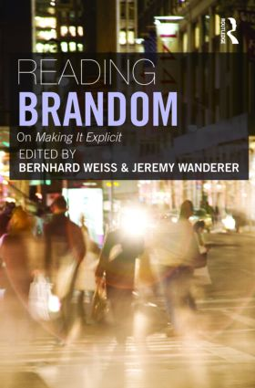 Reading Brandom: On Making It Explicit (Paperback) book cover