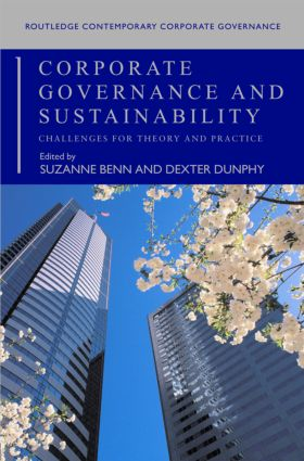 Corporate Governance and Sustainability: Challenges for Theory and Practice (Paperback) book cover