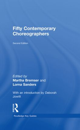 Fifty Contemporary Choreographers: 2nd Edition (Hardback) book cover