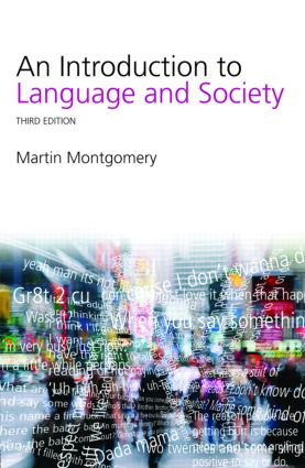 An Introduction to Language and Society (Paperback) book cover