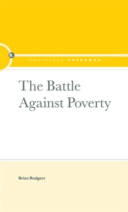 The Battle Against Poverty book cover