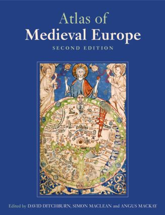Atlas of Medieval Europe: 2nd Edition (Paperback) book cover