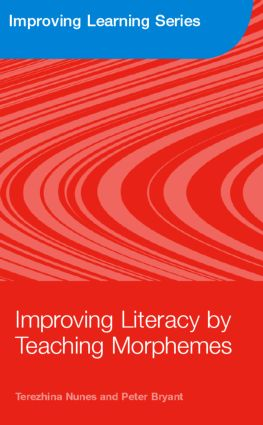 Improving Literacy by Teaching Morphemes (Paperback) book cover