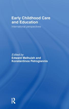 Early Childhood Care & Education: International Perspectives, 1st Edition (Hardback) book cover