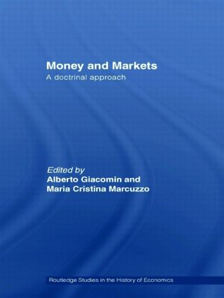Money and Markets: A Doctrinal Approach, 1st Edition (Hardback) book cover