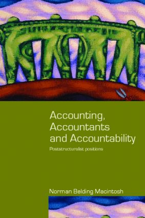 Accounting, Accountants and Accountability book cover