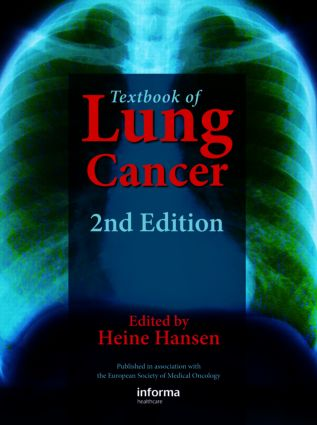 Textbook of Lung Cancer: 2nd Edition (Hardback) book cover