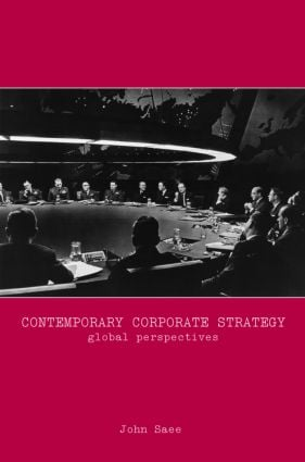 Contemporary Corporate Strategy: Global Perspectives (Hardback) book cover