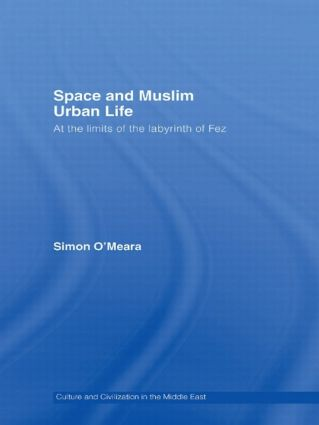 Space and Muslim Urban Life: At the Limits of the Labyrinth of Fez, 1st Edition (Hardback) book cover