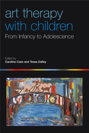 Art Therapy with Children: From Infancy to Adolescence (Paperback) book cover