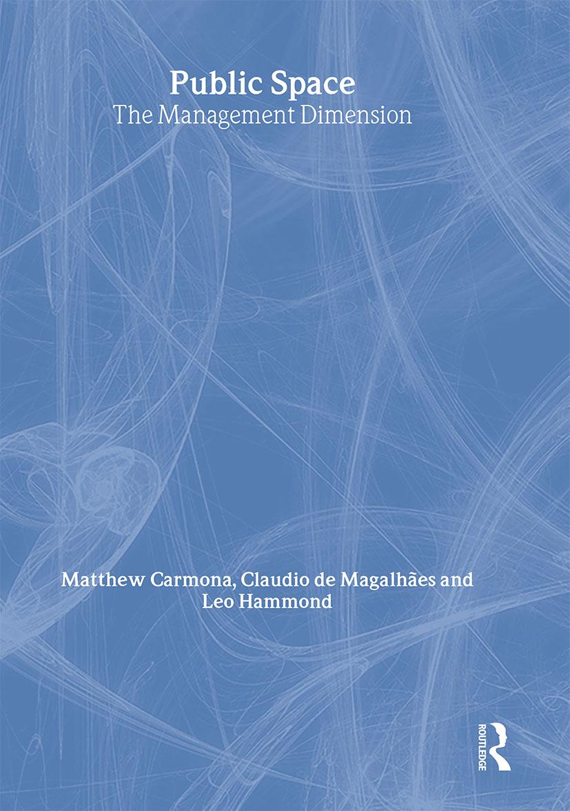 Public Space: The Management Dimension book cover