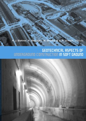 Geotechnical Aspects of Underground Construction in Soft Ground: Proceedings of the 5th International Symposium TC28. Amsterdam, the Netherlands, 15-17 June 2005, 1st Edition (Hardback) book cover