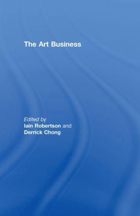 The Art Business (Hardback) book cover