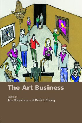 The Art Business: 1st Edition (Paperback) book cover
