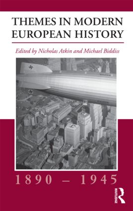 Themes in Modern European History, 1890-1945 book cover