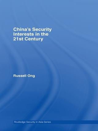 China's Security Interests in the 21st Century (Hardback) book cover