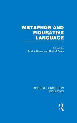 Metaphor and Figurative Language (Hardback) book cover