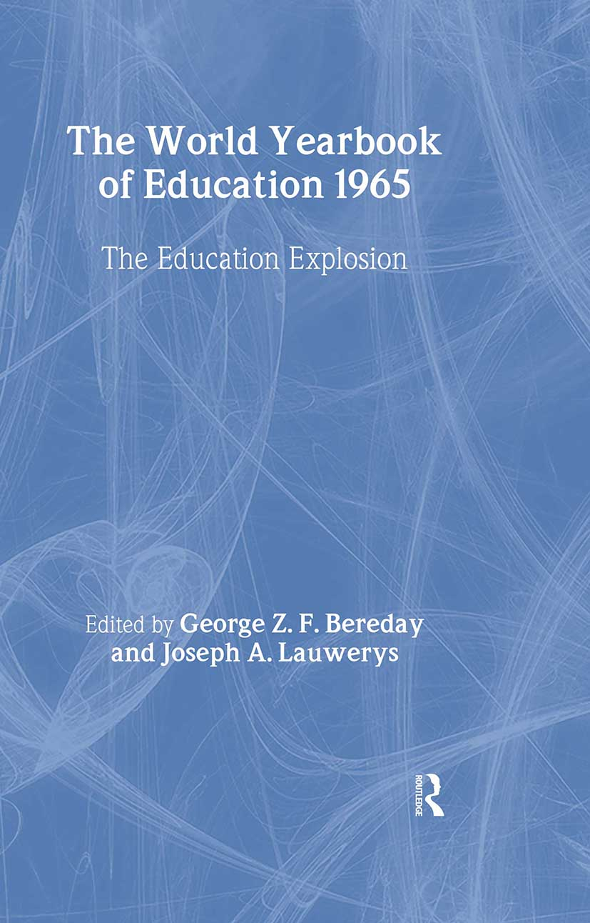 World Yearbook of Education 1965: The Education Explosion book cover