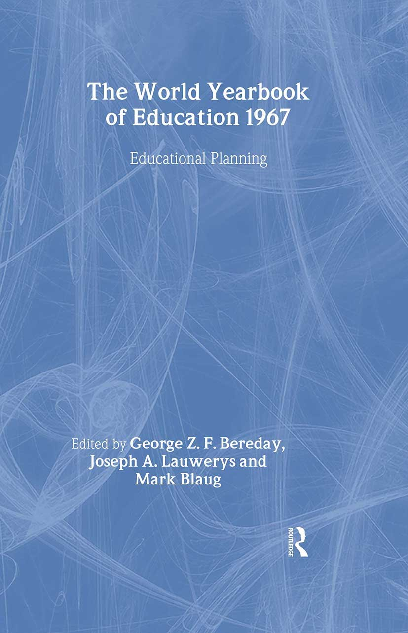 World Yearbook of Education 1967: Educational Planning book cover