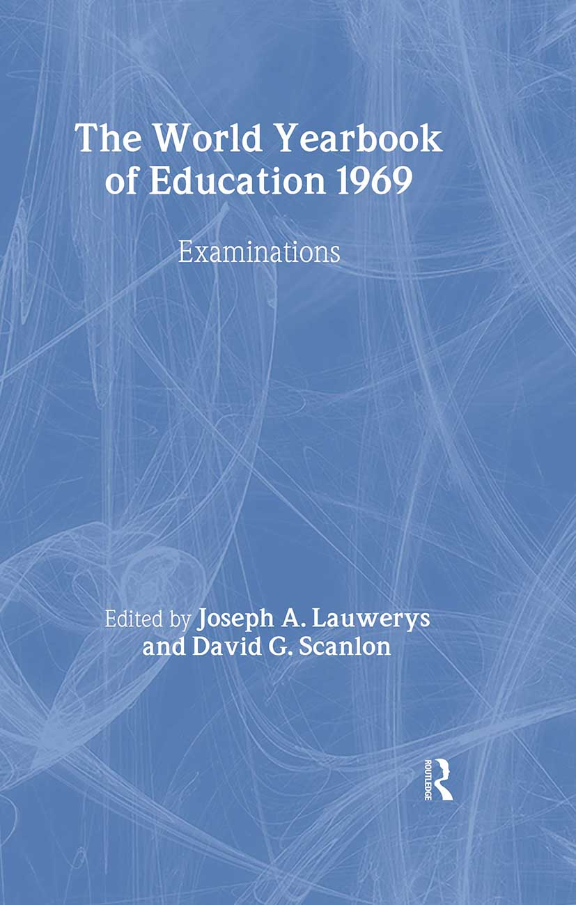 World Yearbook of Education 1969: Examinations, 1st Edition (Hardback) book cover