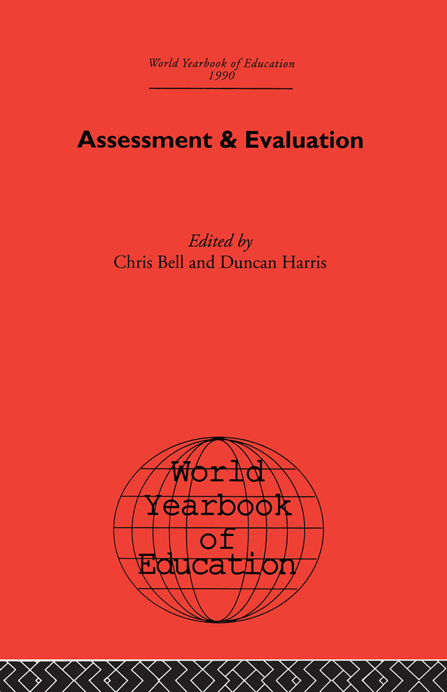 World Yearbook of Education 1990: Assessment & Evaluation book cover