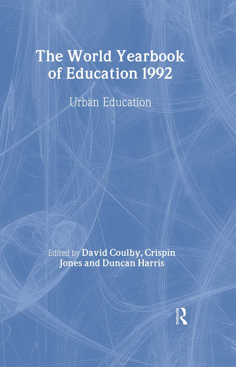 World Yearbook of Education 1992: Urban Education book cover