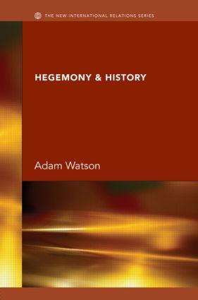 Hegemony & History book cover